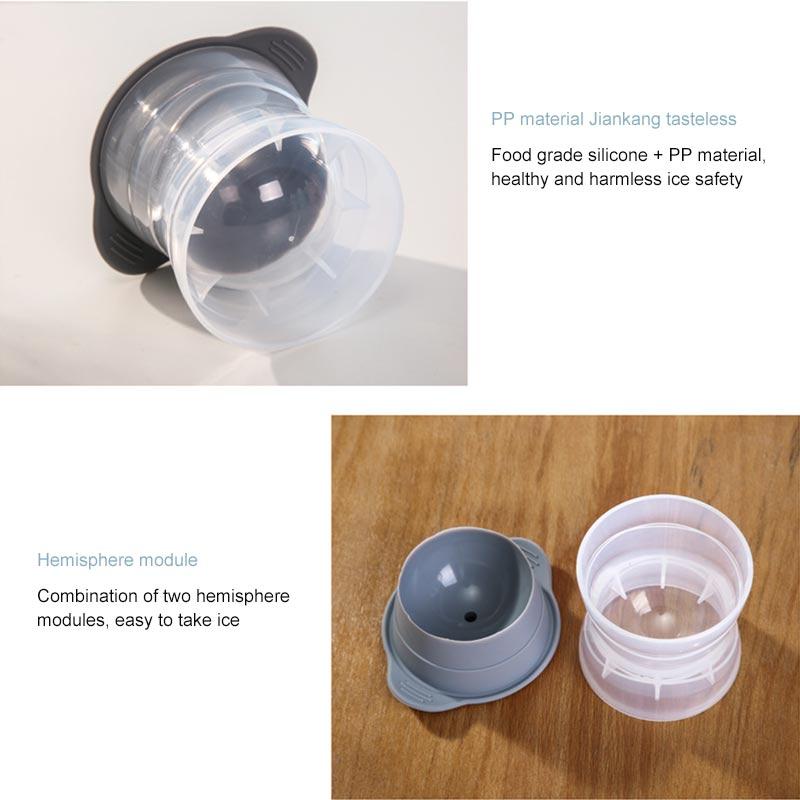 Sphere ice molder set 4
