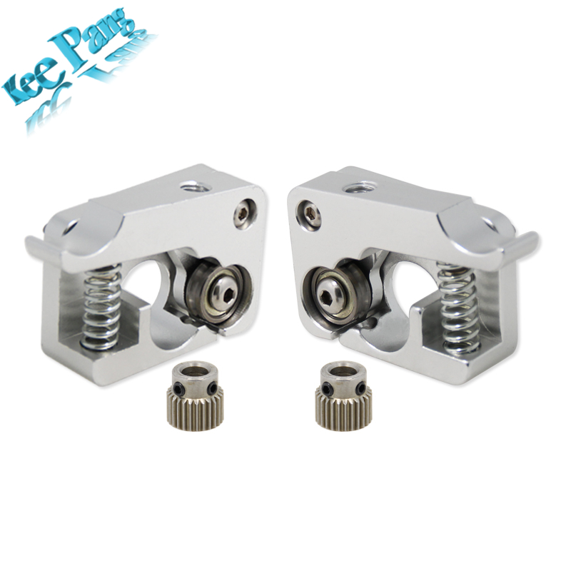 MK10 2X Remote Direct Extruder Aluminum Part Extrusion 1.75mm Right Left Hand Arm Full Metal Bowden 3D Printers Parts Aluminium free shipping corn extruder corn puffed extrusion rice extruder corn extrusion machine food extrusion machine