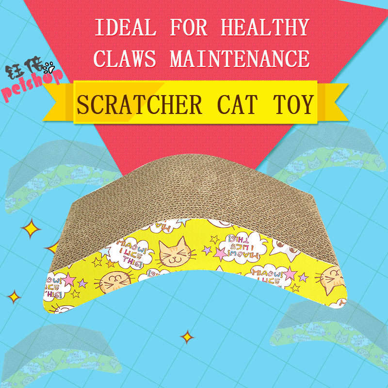 YUBEI Cat Scratcher Cardboard Toys Funn Game Pet Products Cat Toy Supplies Scratchers for Cat Toys Play Games Cats Accessories