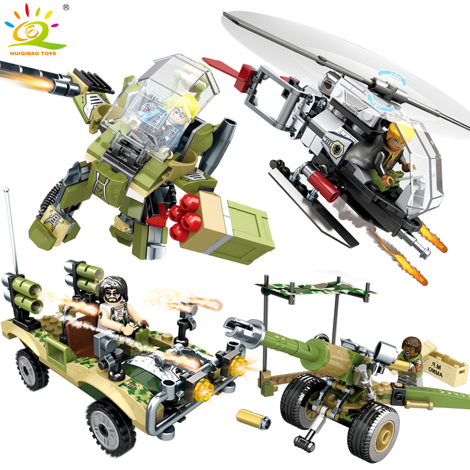 Military series Helicopter robot army weapons building blocks Compatible Legoed city figures enlighten toys for children friends enlighten building blocks navy frigate ship assembling building blocks military series blocks girls