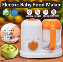 Электрические Детские Еда Maker все в одном малыша блендеры пароход процессор BPA бесплатно Еда-градуированных? PP ЕС? AC 200-250 В пара Еда безопасный