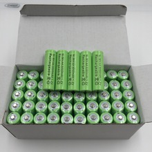 Free shopping New AA 3000mAh Rechargeable Battery AA NI MH 1 2V Rechargeable 2A power Baterias