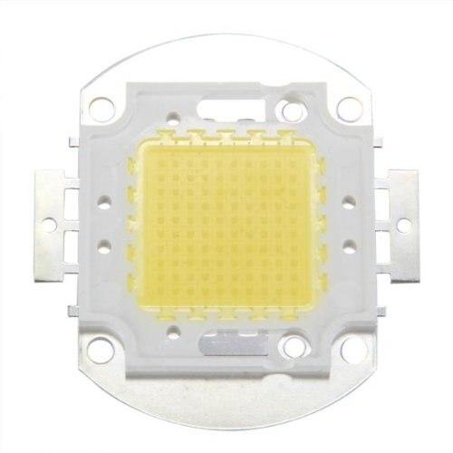 100W ชิป LED ต่อ Lampada Faretto Luce Bianco 7500LM Alta Potenza DIY
