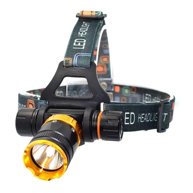 Waterproof 3800 Lumen XML T6 5 Mode Diving Headlight Headlamp Underwater Swimming Dive Head Light Torch Lamp Lighting Flashlight