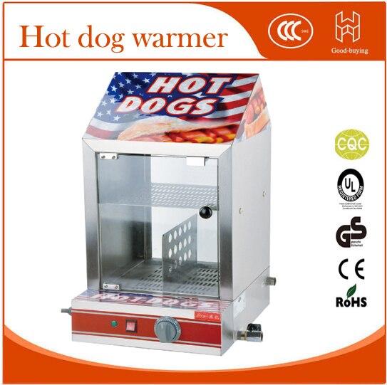 Restaurant food store hot dog warmer hot dog bread grill cooker warmer machine