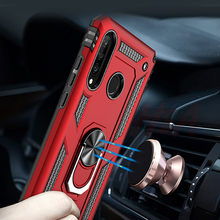 Luxury Magnetic Ring Case On The For Huawei P30 Pro P30 Lite Phone Cover For Huawei P Smart 2019 Case Shockproof Holder Cases(China)
