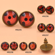 1 Pair Unisex Naruto Stud Earrings