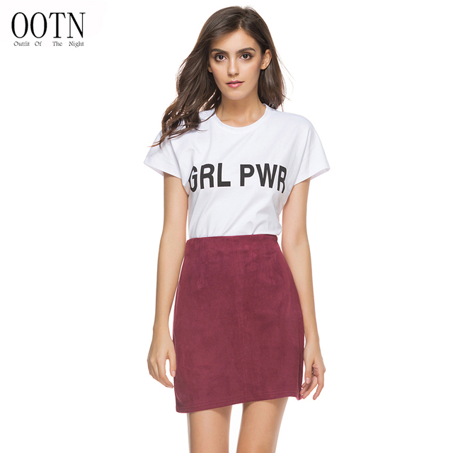 f2d708ec810 Source https   www.aliexpress.com store product OOTN-BSQ008-burgundy-wine-red-mini-suede- skirt-women-cute-fashion-street-style-autumn-winter-office  ...