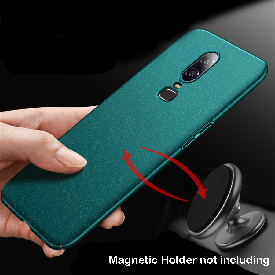 pretty nice 2d49d 992a9 US $6.49 31% OFF|Oneplus 6 Case Matte Original AIXUAN One Plus Oneplus6  Metal Plastic Magnetic Car Holder Cover For Oneplus 6 1+6 -in Fitted Cases  ...