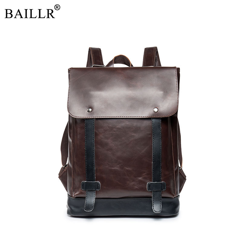 2018 Men Business Style pu Leather Men Black Vintage Backpack Travel Bags Fashion Unisex School Backpacks For Teenage Travel Bag l433mm lifting screw rod with screw nut m20x 2mm tooth pitch for jinma baoma edm small hole drilling machines edm spare parts