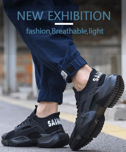 New-exhibition-Work-Safety-Shoes-2019-fashion-sneakers-Ultra-light-soft-bottom-Men-Breathable-Anti-smashing-Steel-Toe-Work-Boots (9)