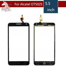 For Alcatel One Touch Pop 3 5.5 OT5025 5025D 5025 Touch Screen Digitizer Sensor Outer Glass Lens Panel Replacement цена 2017