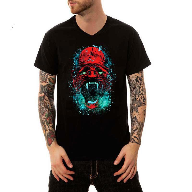 Tshirt Scary Devil Tee Tshirt New Men's 3d man printed t-shirts mens clothing brand t shirts shirt homme funny t-shirt
