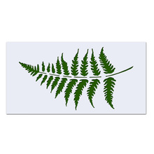 23*12cm Fern Leaf DIY Layering Stencils Wall Painting Scrapbook Coloring Embossing Album Decorative Card Template