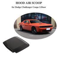 Передняя вентиляция в капоте для dodge challenger coupe настоящая углеродная заглушка из волокна Автомобильная вентиляция в капоте s воздушный поток