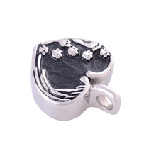 Heart Shaped Ashes Urn