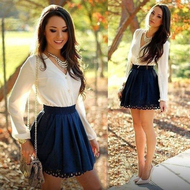 Vestidos cortos de moda mujer