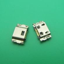 500 stücke Für Samsung Tab EINE 8,0 T350 T355C SM T350 Micro mini USB jack buchse Dock plug weibliche ladegerät lade Port