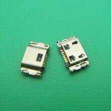 500pcs Para Samsung Tab 8.0 T350 T355C SM T350 Micro mini jack USB Conector do carregador plugue Doca feminino porto de carregamento