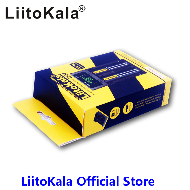 LiitoKala lii-S1 lii-S2 lii-202 lii-402 1.2V 3.7V 3.2V 3.85V AA 18650 18350 26650 10440 14500 16340 NiMH battery smart charger liitokala lii 202 usb intelligent battery charger with power bank function for ni mh lithium for 18650 26650 18350 14500 lii202