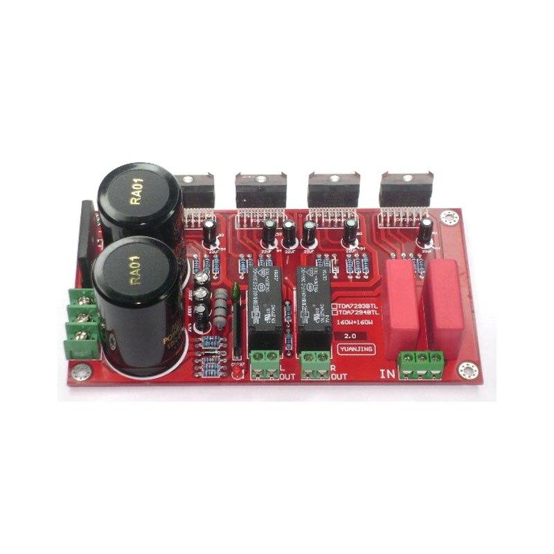 TDA7294 BTL (with BTL speaker protection) luxury power amplifier board аксессуар bbb btl 40s minifold s