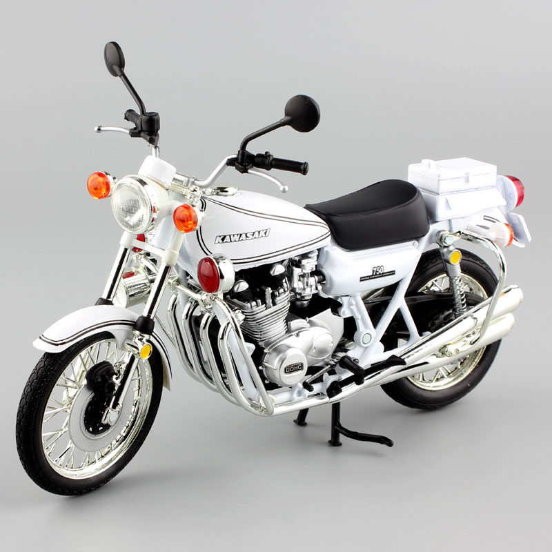 Child's 1:12 Scale Small KAWASAKI 750 RS-P Z750 Road Star Super Bike Motorcycle Die Casting Moto Sport DOHC Model Car Gift Toy