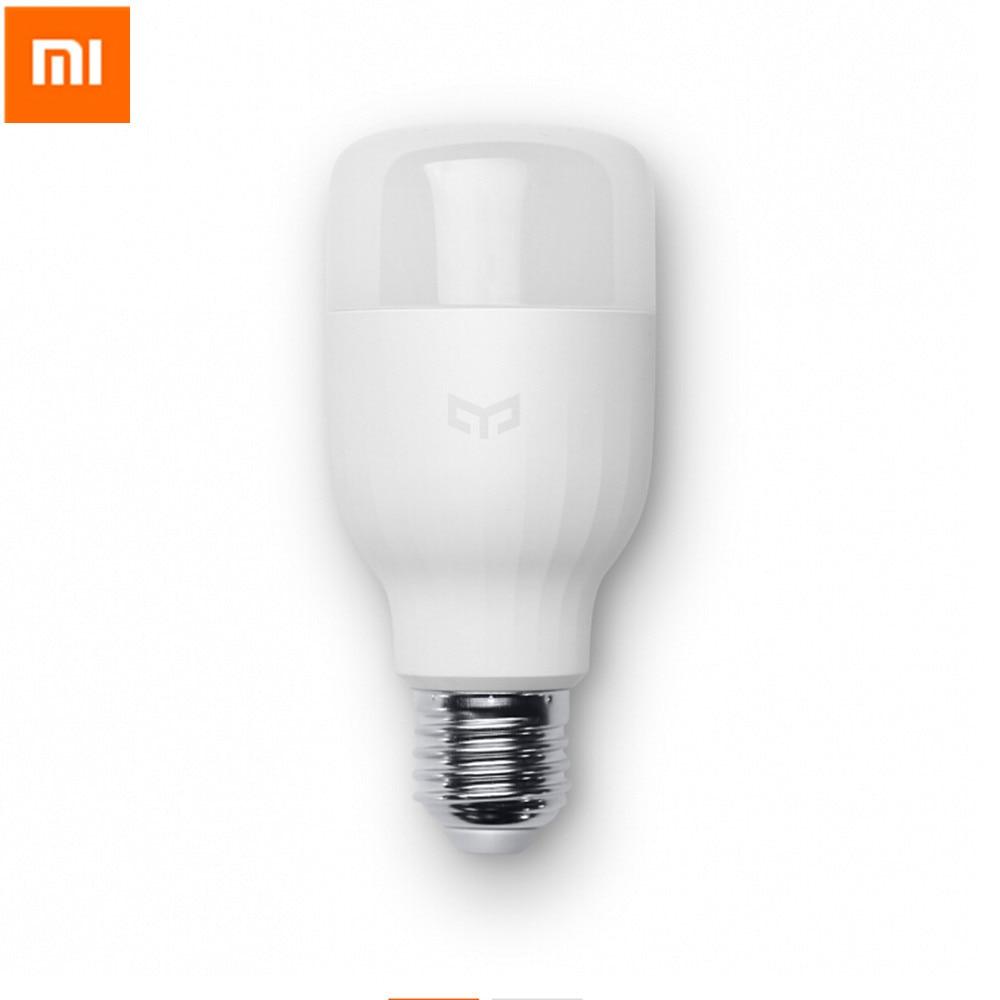 Original Xiaomi Yeelight Mi Smart Bulb Wifi Remote Control E27 8W Adjustable Brightness Eyecare LED Lamp For Android IOS
