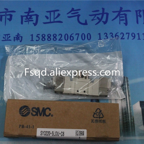 SY3220-5LOU-C6 SMC solenoid valve electromagnetic valve pneumatic component air tools SY3000 series free shipping flip remote key shell colorful replacement cover shell for fiat 500 panda punto bravo case