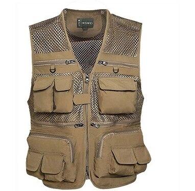 Autumn Of 2020 Men Mesh Vest Photographer Vest Director Many Vest Pocket