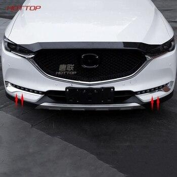 Puertas Siglo XXI SL para Mazda CX-5 CX5 2017 2018 luz antiniebla delantera faro antiniebla lámpara bajo Protector de tapa del párpado las cejas Kit de cubierta Trim