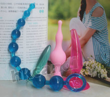 4 unids/set Silicona Juguetes Anales Adultos Productos para Hombres y Mujeres Butt Plugs Anal Dildo Juguetes Del Sexo Anal