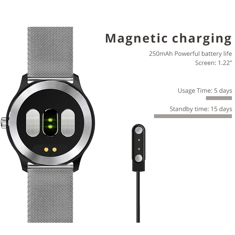 Image 5 - Makibes BR4 ECG PPG smart watch Men with electrocardiogram heart rate blood pressure smart Band Fitness Tracker Double Eleven-in Smart Wristbands from Consumer Electronics