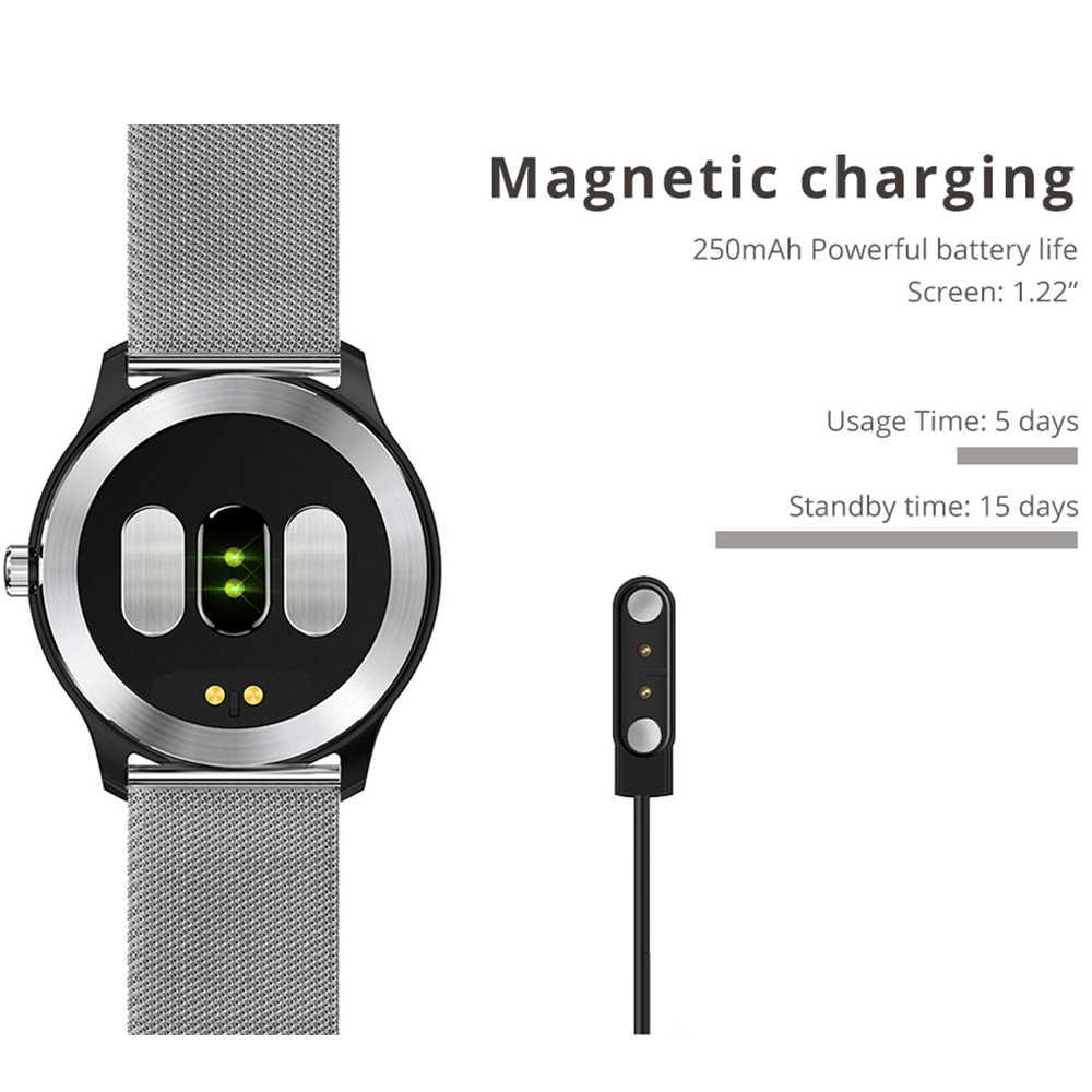 Makibes BR4 ECG PPG Смарт-часы для мужчин с электрокардиограммой дисплей сердечного ритма кровяное давление смарт-Браслет фитнес-трекер Новинка