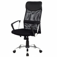 Modern Ergonomic Mesh High Back Executive Computer Desk Task Office Chair Black CB10051