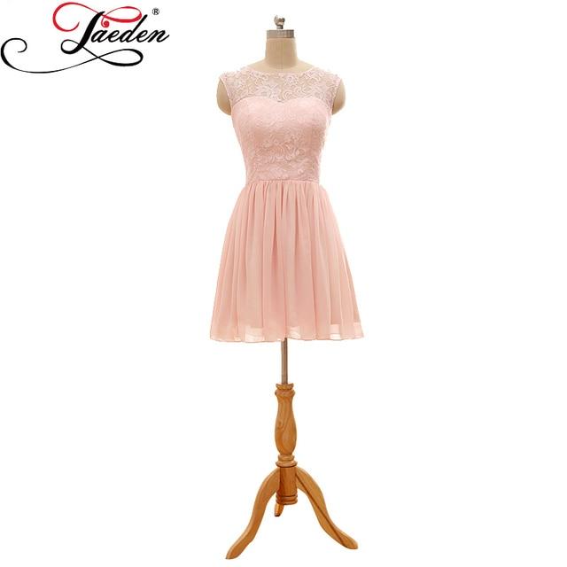 Pastel Pink Short Dress