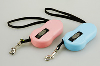 2 4M Mini Handheld Type Automatic Retractable Pet Traction Rope Belts Dog Chain Pet Supplies Dog