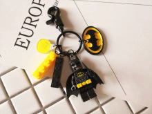 Creative Cartoon Keychain 18 Styles Superman Batman Buzz Lightyear Car Key Chain Ring Bag Accessories Pendant