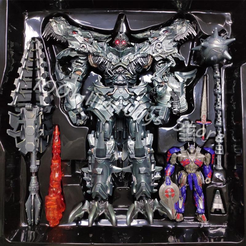 WEIJIANG Transformation SS07 Grimlock 58CM Enlarged Edition Diecast Oversized Grimlock Figure Toy Boy Toys