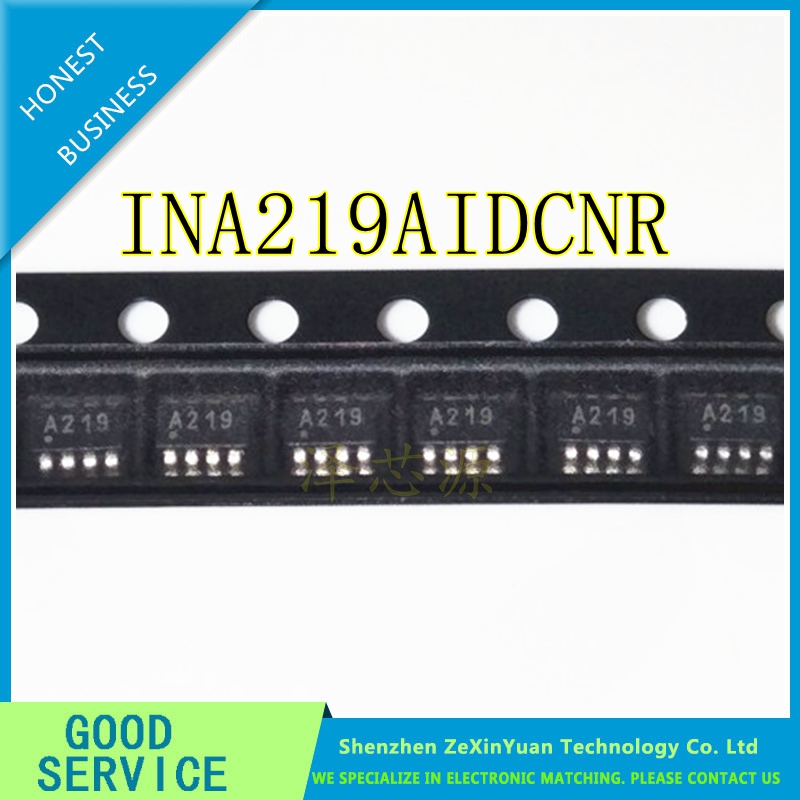 50PCS 100 New INA219AIDCNT INA219AIDCNR INA219A INA219 sot23 8 Chipset