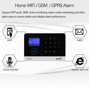 Image 3 - Wireless Home Security WIFI GSM GPRS Alarm system APP Remote Control RFID card Arm Disarm EN RU ES PL DE Switchable