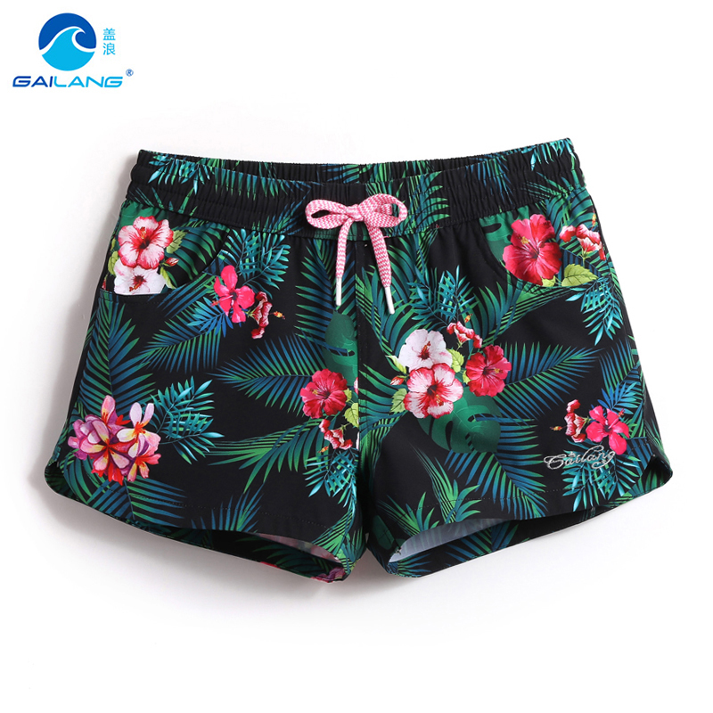 Ladies swimwear loose beach shorts bermudas sexy short praia swimming trunks sexy quick dry surf swimsuits bathing sweat joggers