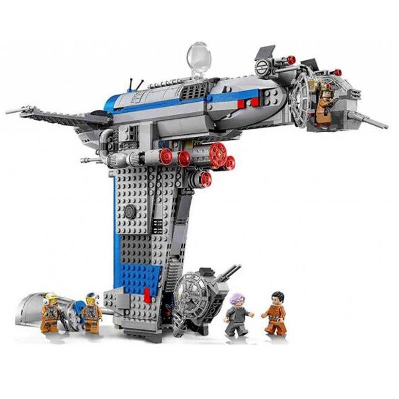 873 pcs 5129 Rebelles Bombardier Ensemble Véritable Jouets Étoiles Wars Série Blocs De Construction Briques Compatibles Legoingly Starwar 75188