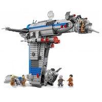 873Pcs 5129 Rebel Bomber Set Genuine Star Toys Wars Classic Series Building Blocks Bricks Compatible Legoingly Starwar 75188
