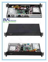 RC1250 Compact 1U rackmount chassis with Stylish Aluminum front-panel server case
