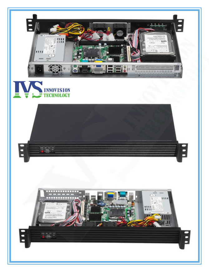 все цены на RC1250 Compact 1U rackmount chassis with Stylish Aluminum front-panel server case онлайн