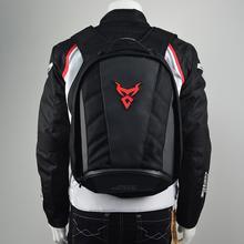 Moto Motorcycle Tail Bag Backpack Waterproof Helmet Storage