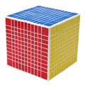 Shengshou 11 Capas 10.85 cm Etiqueta Profesional Velocidad Ultra-smooth Cubo Mágico Giro Puzzle Cubos Cuadrados Juguetes Educativos-50