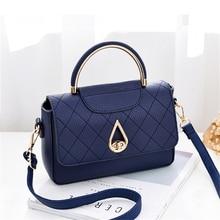 Luxury Messenger Bags Totes Shoulder Ladies Metal Lock Handbag New Female Fashion Party PU Leather Bag