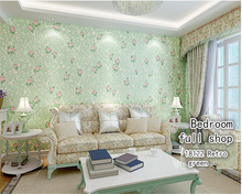 beibehang papel de parede 3d wallpaper Warm pastoral flowers stereoscopic nonwovens wallpaper bedroom living room sofa TV wall цена