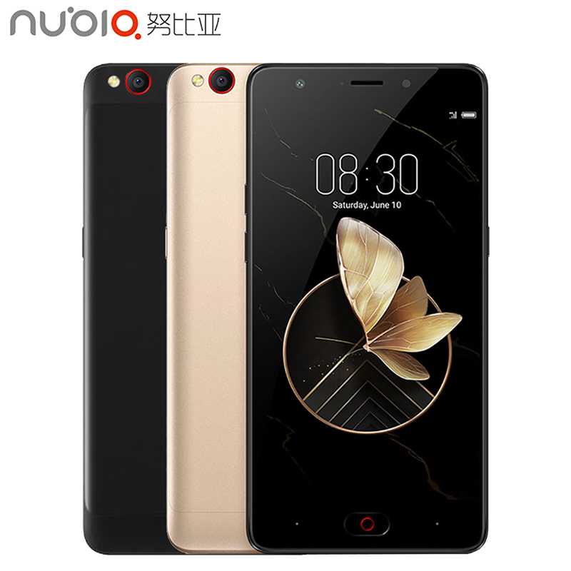 Original Global Version Nubia M2 Play Cell Phone 5.5inch Screen RAM 3GB ROM 32GB Qualcomm MSM8940 13MP Camera 3000mAh Smartphone